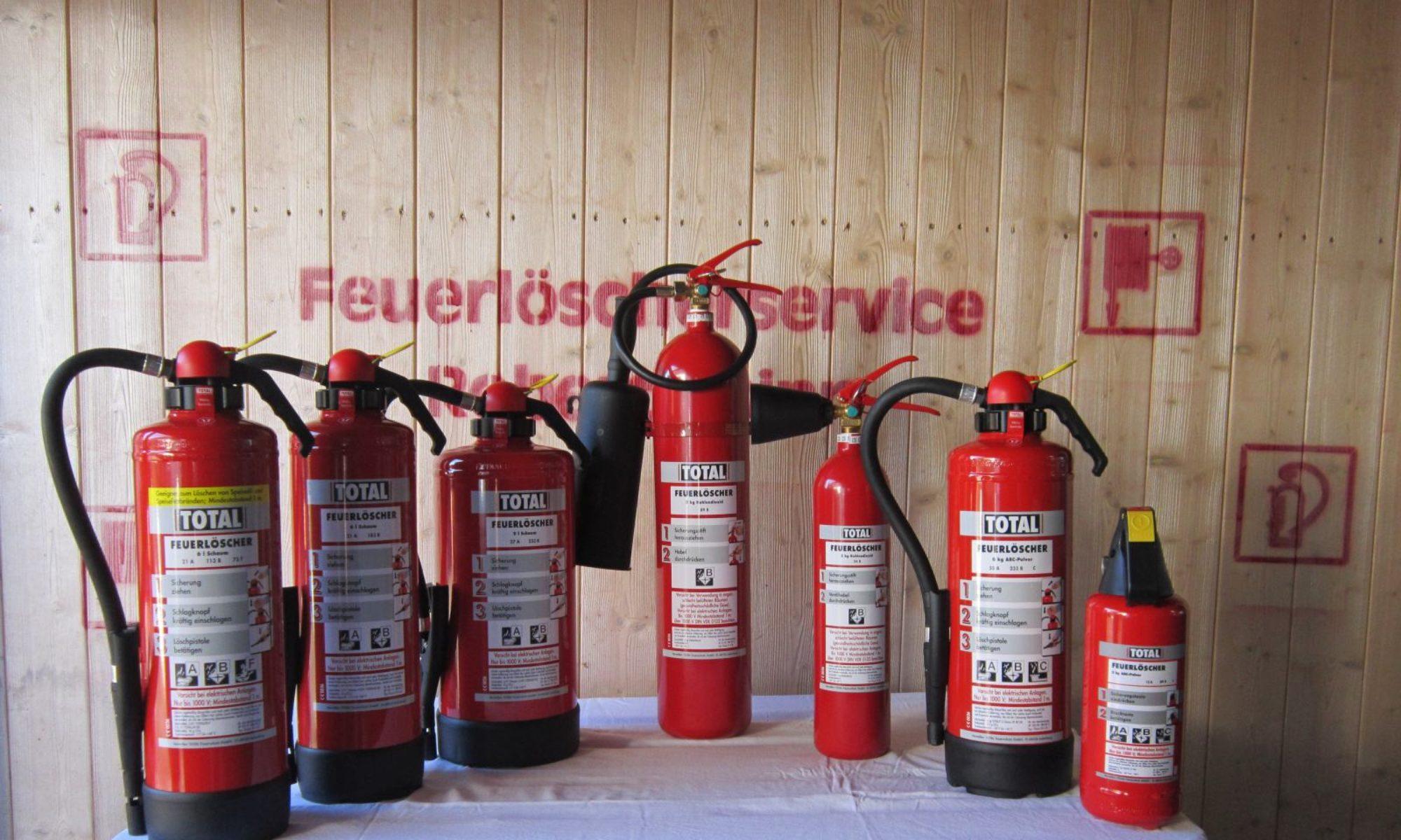 Feuerlöscherservice